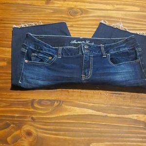 AE demin shorts